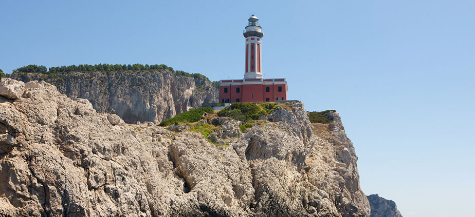 The Punta Carena lighthouse